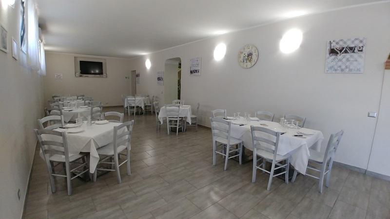 Sala ristorante hotel Frascati anche gruppi