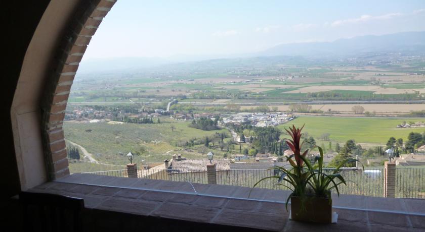 Vista panoramica sull'Umbria