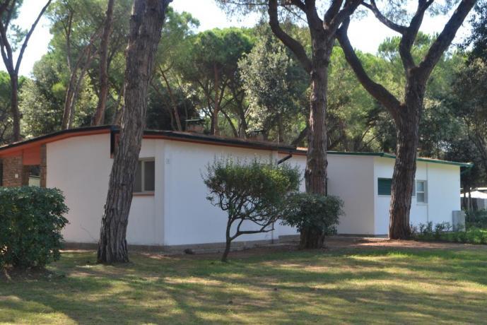 Resort Baia Domizia con appartamenti piano terra famiglie