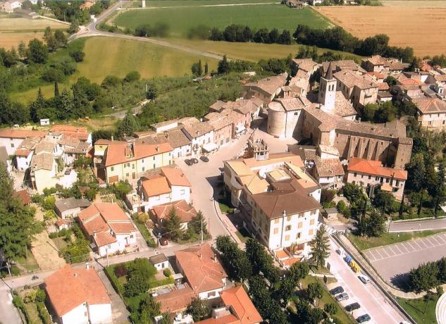 Panoramica su Castel Ritaldi