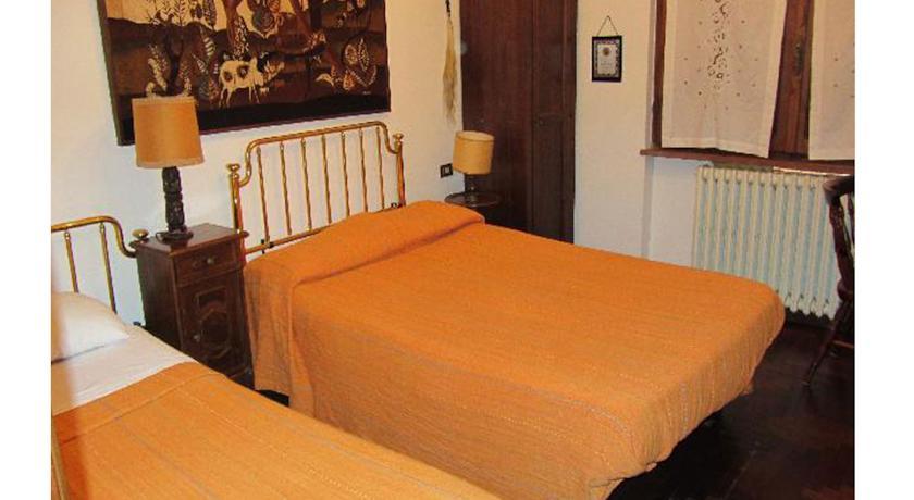 letti appartamento Dotto casa vacanze Umbria