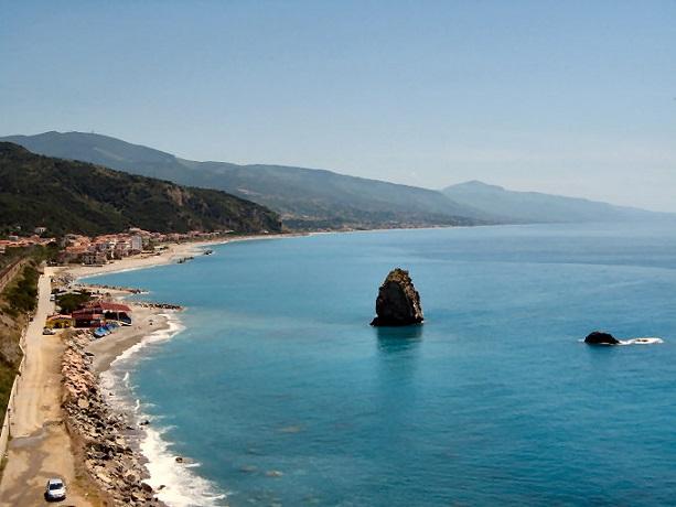 Mare cristallino in Calabria