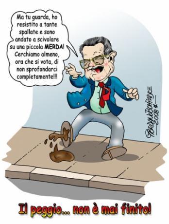 Vignetta   Prodi Bis   Umorismo a Fumetti   Satira