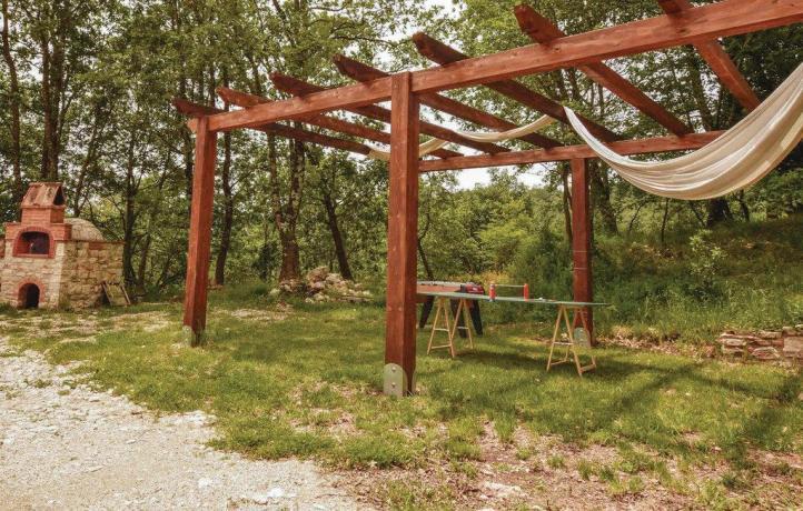 Casa vacanze nel Sannio Piscina giardino e caminetto