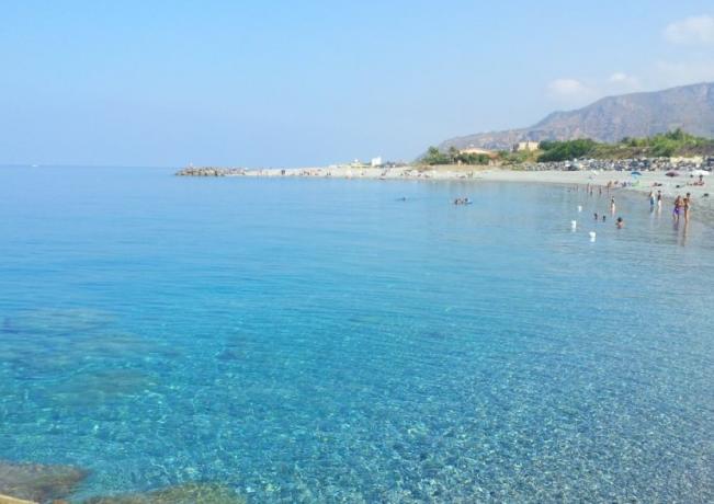 Spiaggia di Amantea in Calabria