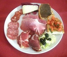 Umbrian appetizer