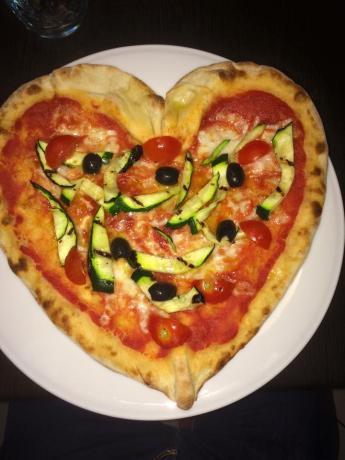 Pizzeria romantica con Vista Assisi