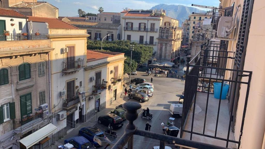 Appartamento vacanze Palermo con balcone