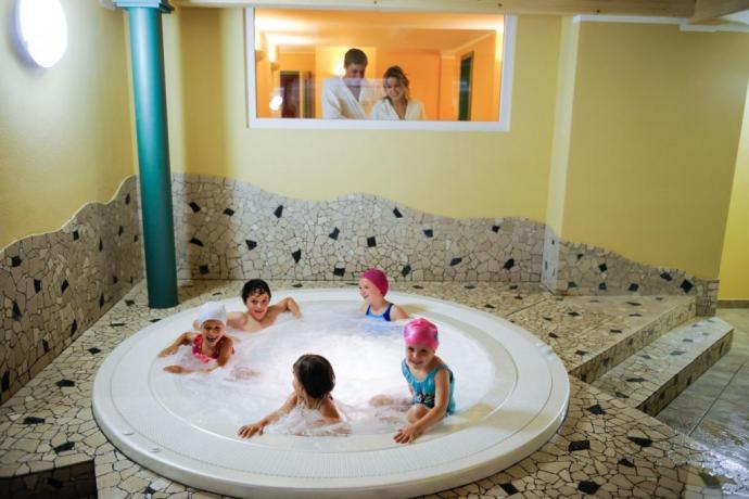 Hotel3stelle centro benessere ideale per famiglie con bambini