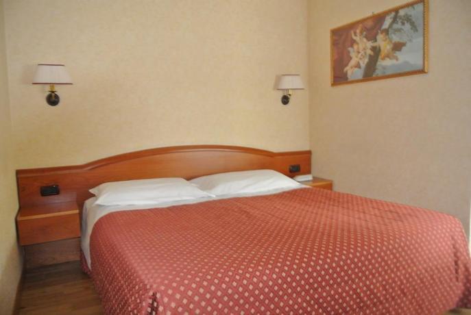 Hotel Arezzo con romantica camera matrimoniale