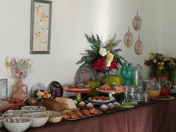 Colazione a buffet in Hotel a Collevalenza