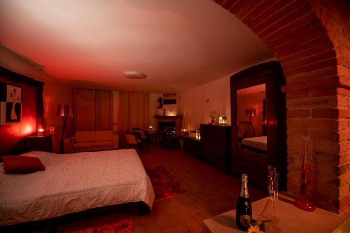 Camera da Letto Suite seduction in Umbria