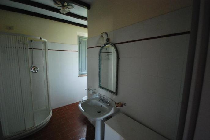 Bagno privato in Casale a Narni