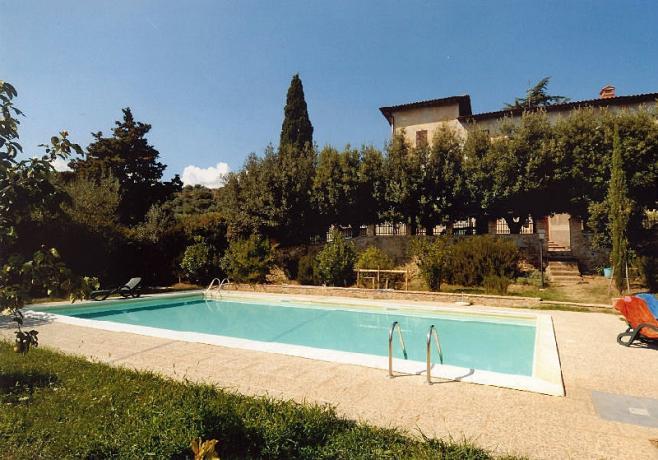 Casale sul Lago Trasimeno con piscina panoramica