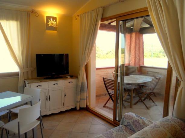 Appartamento con piccolo portico in Sardegna