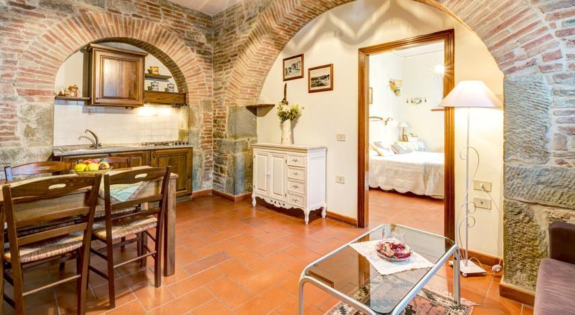 Appartamento Spiga, Soggiorno con cucina in Agriturismo