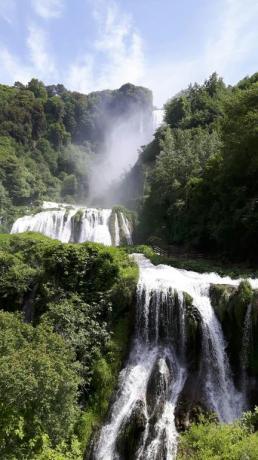 La Cascata delle Marmore in Umbria