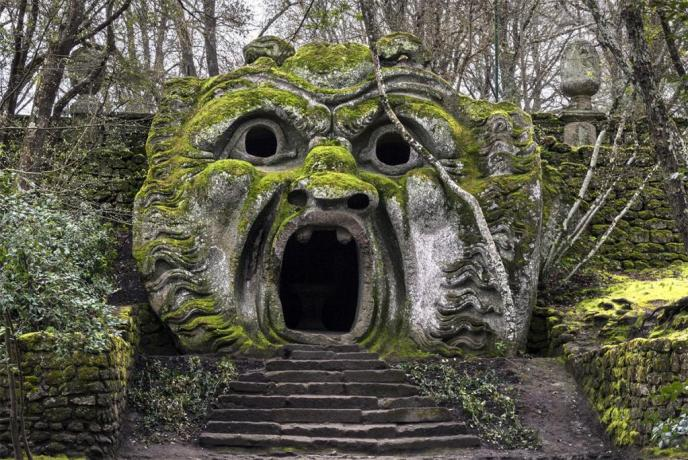 Bomarzo vicino alla Country House di Gallese
