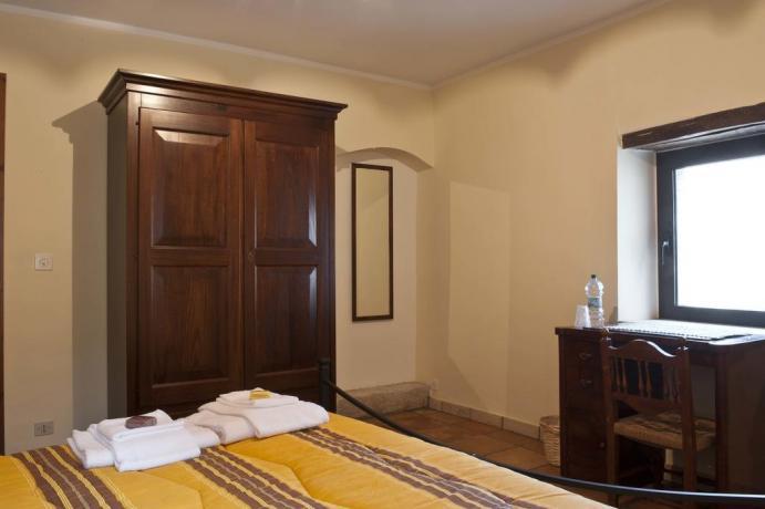 Camera matrimoniale romantica Gaeta vista panoramica
