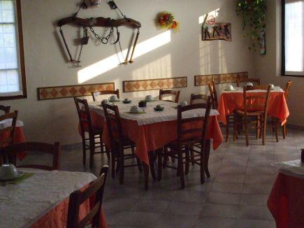 Sala colazione e pranzo