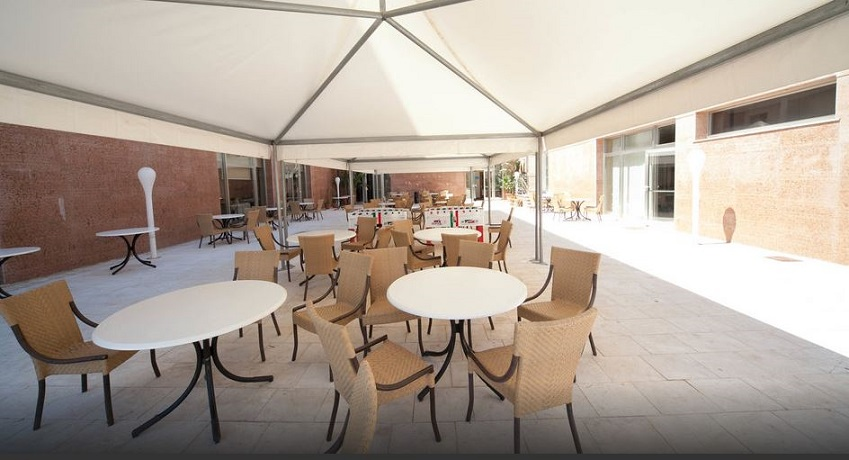 Sala esterna a Castelvetrano