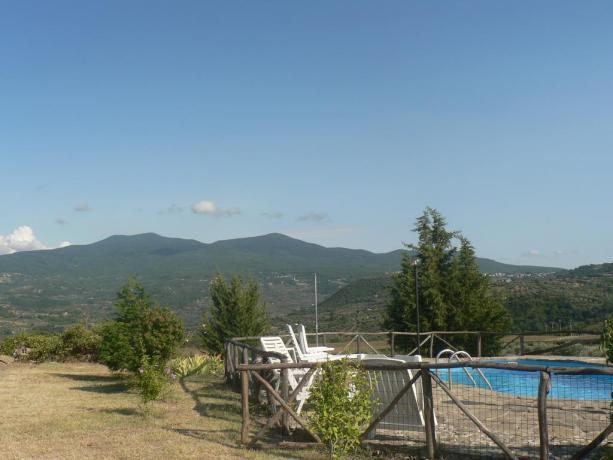 Piscina Panoramica Casa Vacanza Grosseto