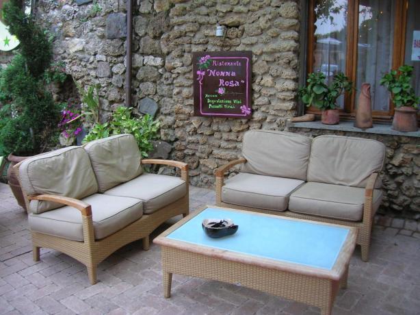 Ristorante Nonna Rosa hotel a Chiusi