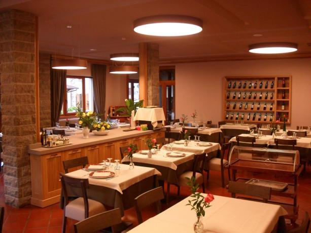 Hotel Abetone con sala ristorante
