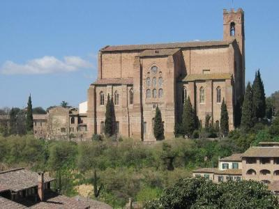 Visit the Church of San Domenico in Siena
