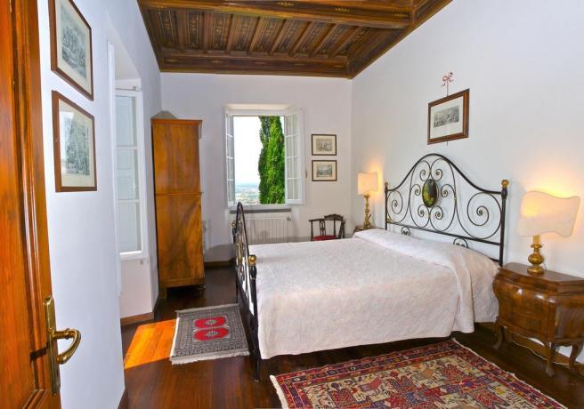 Appartamento in Villa a Cortona con vista giardino
