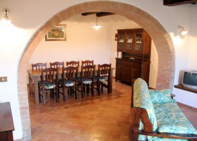 Appartamento Leccino, soggiorno, sala da pranzo