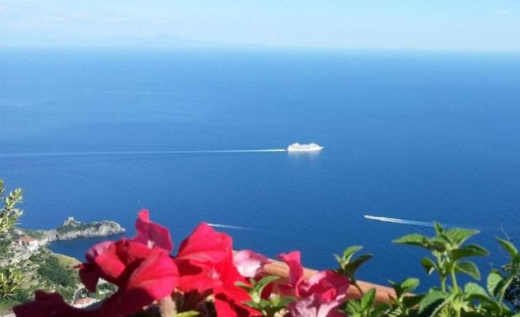 Solarium panoramico in Appartamenti in Campania