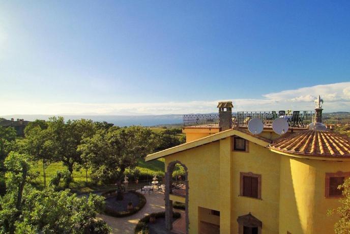 Appartamenti con vista lago di Bolsena