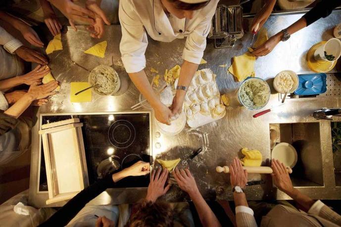 Lezioni di cucina toscana presso il B&B