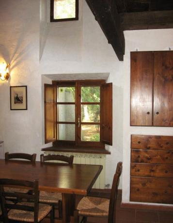 Appartamento Lauro con sala pranzo Lago Trasimeno