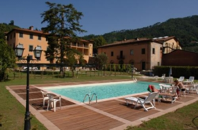hotel in lucca near the spa