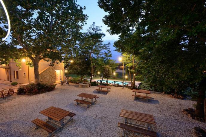 Appartamenti a Foligno con ampio giardino