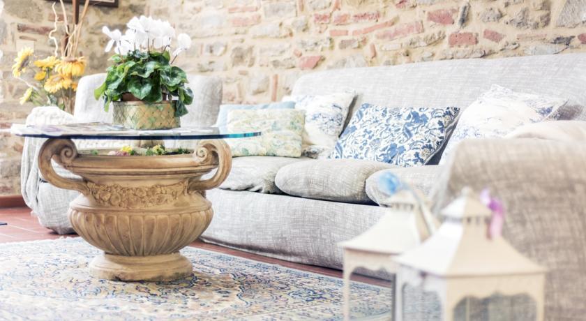 Soggiorno dell'appartamento in Toscana in Agriturismo