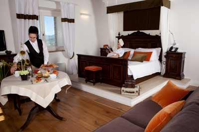Suite con salotto privato e vista dominante