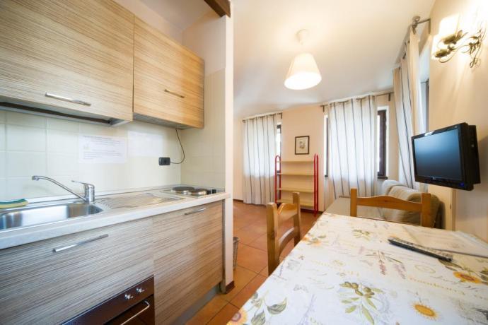 Casa-vacanze Bardonecchia monolocale 4persone con cucina e tv