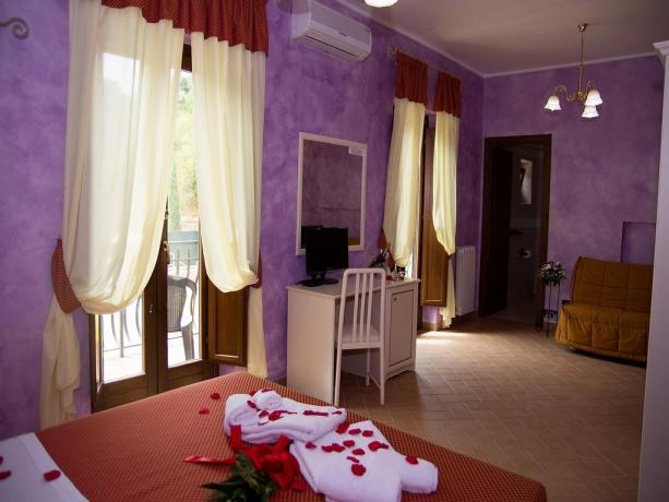 Agriturismo nel Lazio-camera junior suite