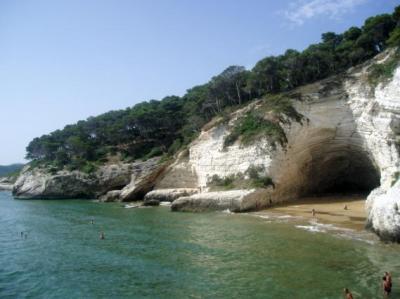 Vieste sul Gargano in Puglia