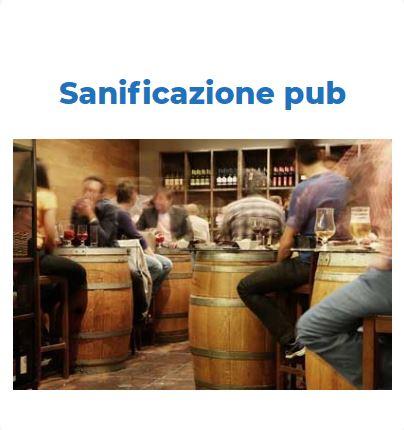 Sanificazione Certificata COVID-19: PUB Roma