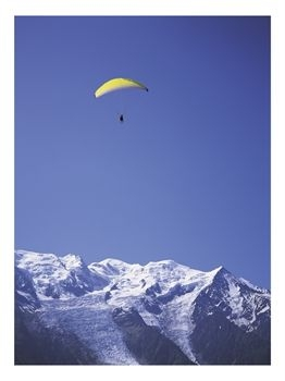 Paragliding in Chamonix