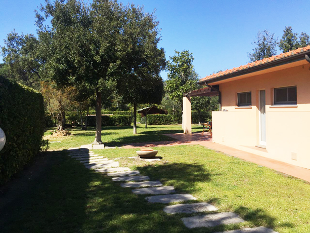 Villino vicino Porto di Punta Ala con Giardino