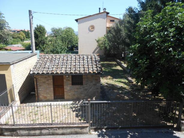 Esterno appartamento vacanza, vicino Assisi