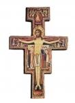 Crocifisso in legno d'olivo, Foligno