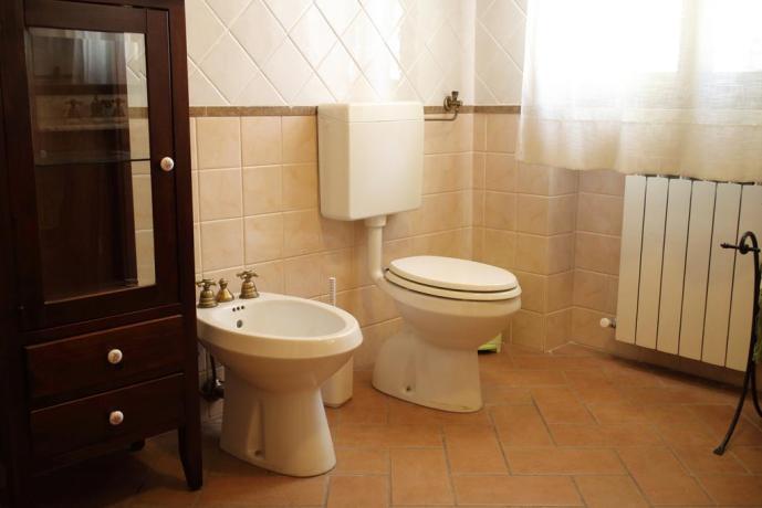Bagno in Camera nel B&B Castel Ritaldi