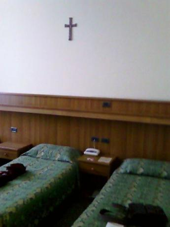 Camera doppia in Casa a Roma per pellegrini