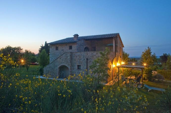 Residence lusso in Toscana con piscina per bambini